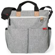 Сумка для мамы Skip hop Duo signature, цвет Grey Melange