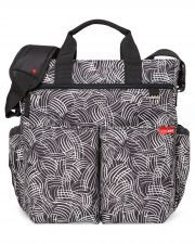 Сумка для мамы Skip hop Duo signature, цвет Black Swirl