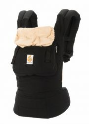 Рюкзак переноска ErgoBaby Carrier Original, цвет Black/Camel