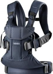 Рюкзак-кенгуру BabyBjorn One Air, цвет Navy Blue Mesh