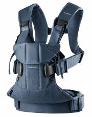 Рюкзак-кенгуру BabyBjorn One, цвет Midnight Blue