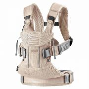 Рюкзак-кенгуру BabyBjorn One Air 3D, цвет Pearl Pink