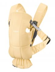 Рюкзак-кенгуру BabyBjorn Mini Cotton, цвет Light yellow