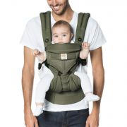Рюкзак переноска ErgoBaby Four Position 360, цвет Khaki Green