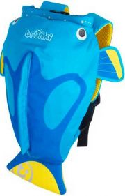 Рюкзак Trunki PaddlePak, цвет Blue Fish