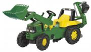 Трактор педальный Rolly toys John Deere Rolly Junior 811076